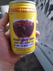Grass Jelly Drink ( agar agar)